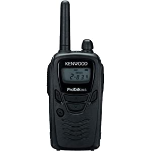 Kenwood TK-3230 ProTalk Portable UHF Business On-Site Two-Way Radio- Black by Kenwood