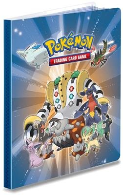 Trading Card Supplies - 4 POCKET PAGE PORTFOLIO ( Pokemon - LENTICULAR Regigagas & Friends)
