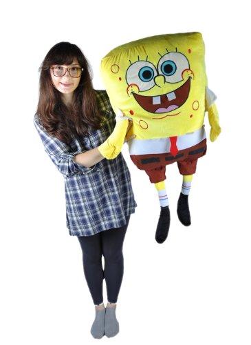 Rare large Size Super Giant 31.5 Inch/80CM SpongeBob Squarepants Plush Stuffed Soft Toy Fluffy Pillow and cushion
