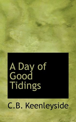 A Day of Good Tidings