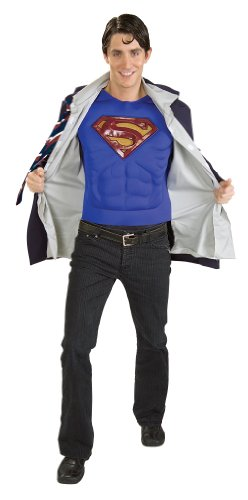Superman Reversible Clark Kent/Superman Costume Adult