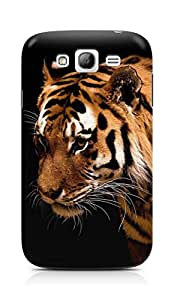 Amez designer printed 3d premium high quality back case cover for Samsung Galaxy Grand Neo (Tiger dark animal love nature)