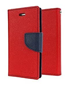 BR International Flip Cover For Asus Zenfone 2 Red