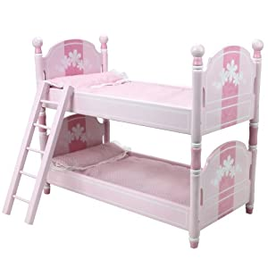 18 inch doll bunk bed doll bedding ladder doll furniture fit for 18 inch american. Black Bedroom Furniture Sets. Home Design Ideas