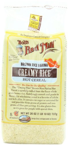 Bob's Red Mill Cereal Brown Rice Farina, 26-Ounce (Pack of 4)