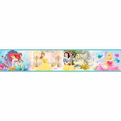 Princess Wallpaper Border self adhesive by Lux