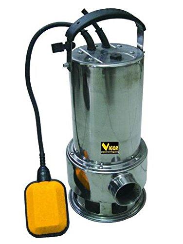 Vigor SUB Inox 750 Automatica Elettropompa, 1-1/2 Pollici M