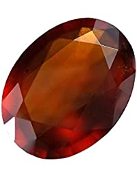 Hessonite Garnet Gemstone Natural Natural Certified Original Stone Oval Cut 7.25 Ratti