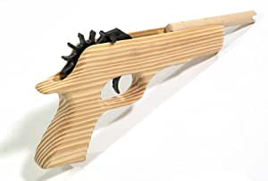 Colt 45 Magnum 12-Shot Rubber Band Shooter - MOST AMAZING & SAFE FUN EVER! We own the patent to these and your are buying the ORIGINAL from the PATENT owner, all others on Amazon are CHINA COPIES!