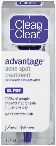 Clean & Clear Clear Advantage Acne Spot Treatment, 0.75 Ounce