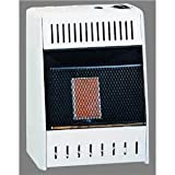 Kozy World KWP110, 6K BTU LP Infrared Wall Heater, Cream