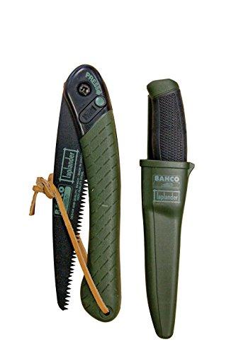 Bahco LAP-KNIFE Laplander Folding Saw and Multi-Purpose Knife Set