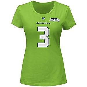 Amazon.com : Russell Wilson Seattle Seahawks #3 NFL Women