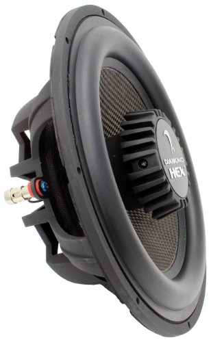 "S104 Diamond Audio 10"" 4 Ohm Sub Shallow Mount Hex Series Subwoofer"