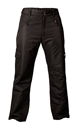 Arctix Men's Cargo Snow Pants, Large, Black