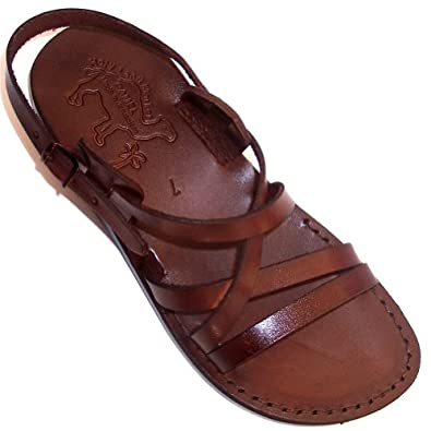 Unisex Adults/Children Genuine Leather Biblical Sandals / Flip flops
