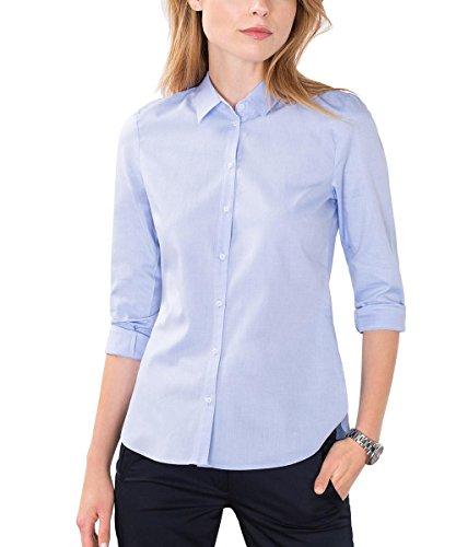 ESPRIT Collection 106EO1F018, Camicia Donna, Blu (Light Blue), 42