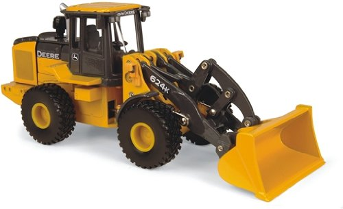 Ertl John Deere 624K Wheel Loader, 1:50 Scale front-1032760