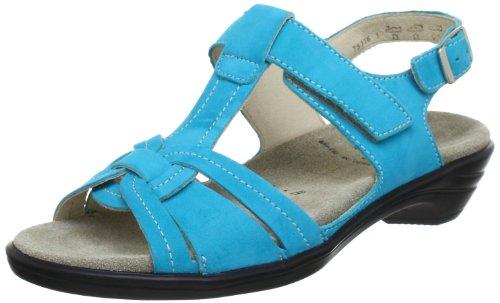 Semler Ute Sandals Women Turquoise Türkis (türkis 077) Size: 41 1/3