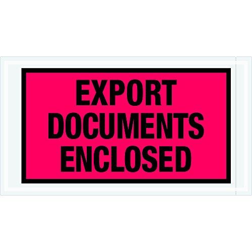 tape-logic-tlpl440-export-documents-enclosed-envelopes-5-1-2-x-10-red-pack-of-1000