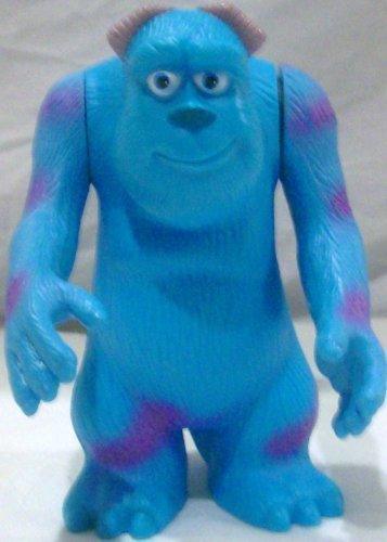"Disney Pixar Monster Inc, Sully 6"" Toy Figure, Mcdonald Happy Meal - 1"