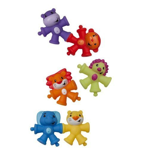 Infantino Animal Pop Beads - 1