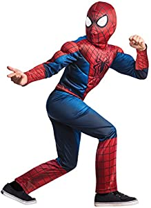 Rubie's Marvel Comics Collection, Amazing Spider-man 2, Deluxe Spider-man Costume, Child Small - Child Small One Color