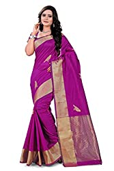 Amigos Fashion Women's Tassar Silk Saree (AF-05)