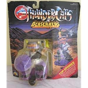 Thundercats Toys on Com  1986 Thundercats Ljn Toys Berserkers Top Spinner  Toys   Games