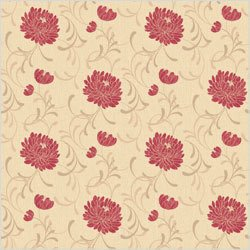 Crown Linen Floral Wallpaper by Crown