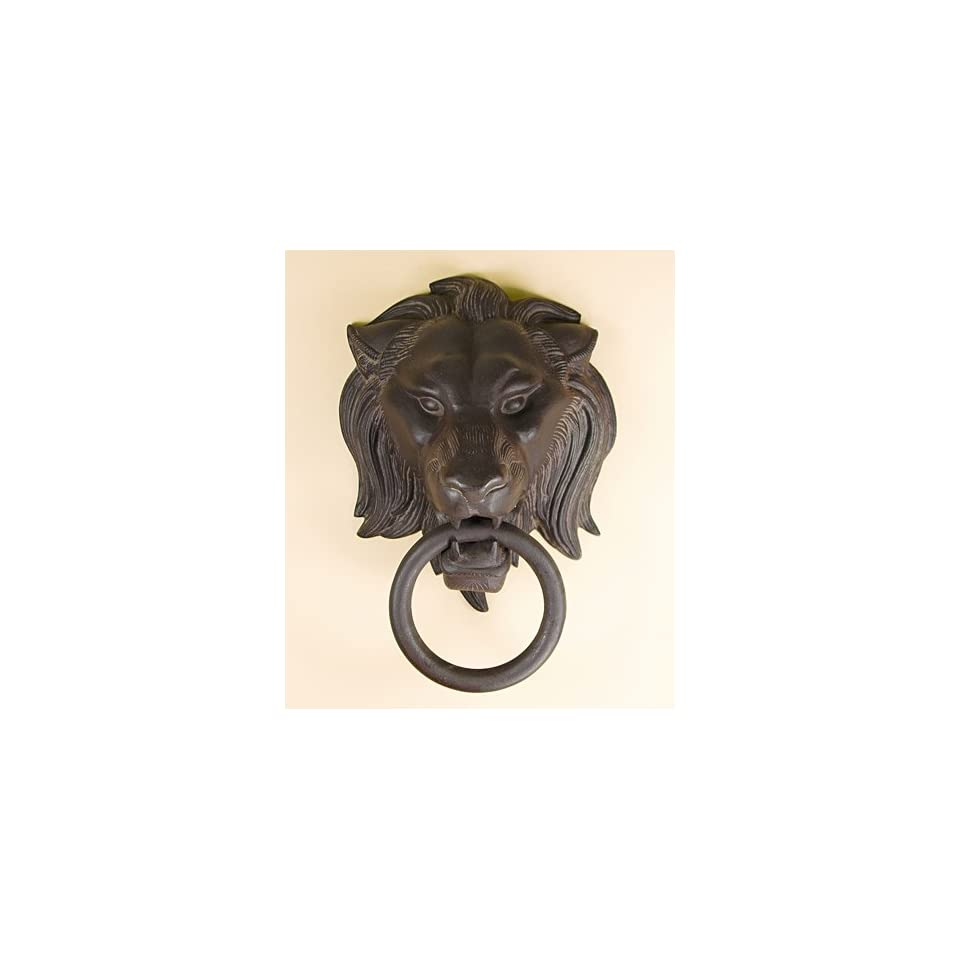 Lion Head W/ Ring