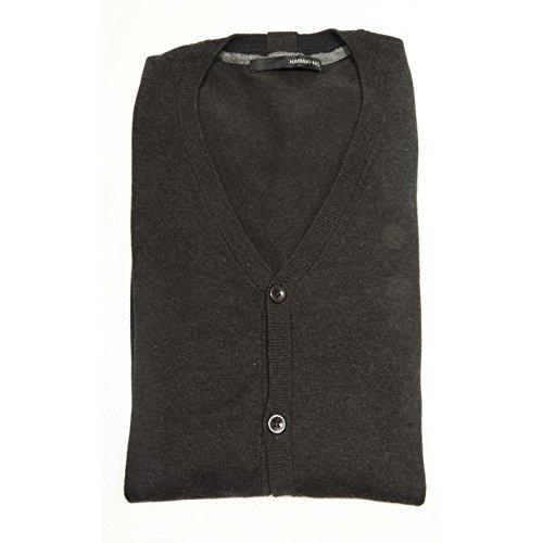 82606 cardigan HAMAKI-HO COTONE maglia magilone uomo sweater men [XXL]