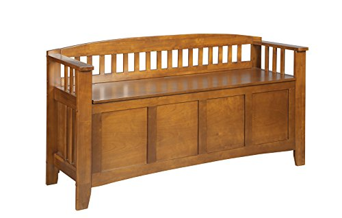 American Furniture Classics Entryway Gun Concealment Bench Benches Storage Benches