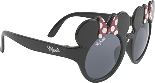 Disney Minnie Mouse Girl's Black Novelty Sunglasses
