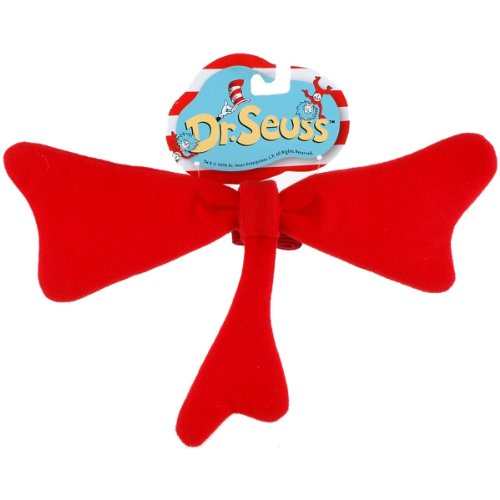 Seuss Cat in the Hat Bow Tie Costume Accessory