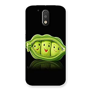Ajay Enterprises Zip Faced Back Case Cover for Motorola Moto G4 Plus