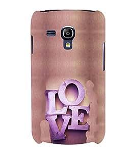 EPICCASE Love Mobile Back Case Cover For Samsung Galaxy S3 Mini (Designer Case)