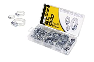 MAXCRAFT 7700 Hose Clamp Assortment, 40-Piece by MAXCRAFT