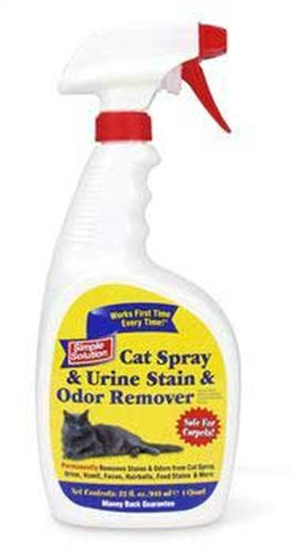 Simple Solution Cat Stain & Odor Remover, 32