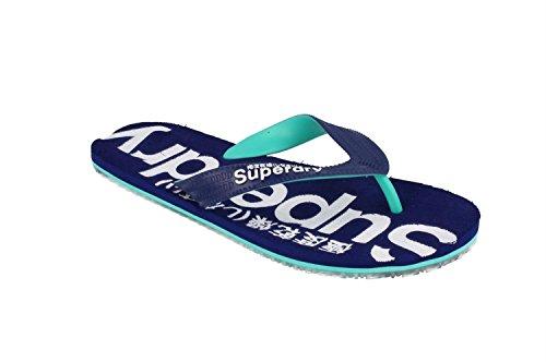 Slippers SUPERDRY MF3KS002-EKK MARINO S Blue