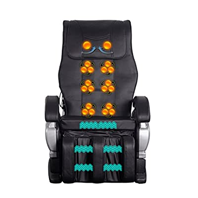 Walcut Electric Intelligent Full Body Heated Vibrating Ergonomic Powerful Pu Leather Recliner Massage Chair