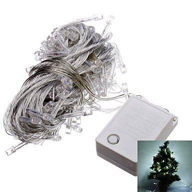 Bright-Ddl 10M 6W 100-Led Cool White Led Strip Light For Christmas Halloween Festival Decoration (110V)