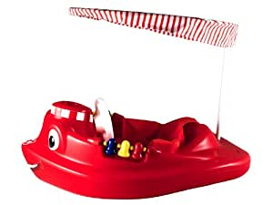 SwimWays 11622 Baby Tug Boat with UV Spring Canopy