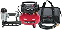 PORTER-CABLE Pc1Pak 2-1/2-Inch Finish Nailer Compressor Combo Kit by PORTER-CABLE