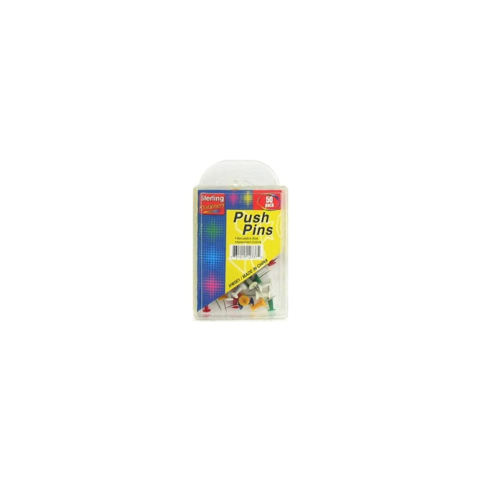 Colored push pin set   Pack of 20 Toys & Games