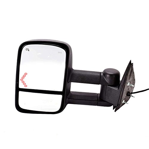 DEDC 2003-2007 Chevrolet Silverado GMC Sierra Pickup Left Driver Side View Mirrors Power Heated With Arrow Signal Light (2003 Chevy Tow Mirrors compare prices)