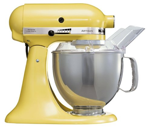 416fb6alueL KitchenAid Artisan Stand Mixer Yellow