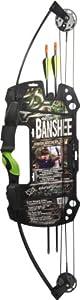 Barnett Outdoors Team Realtree Banshee Quad Junior Compound Bow Archery Set