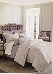 Bloomingdale\'s 1872 Harlow 2 Crochet Lace Trim King Pillowcases,Ivory
