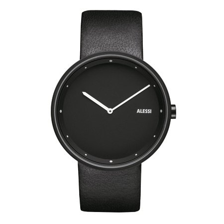 Alessi Armbanduhr Out_Time, schwarz